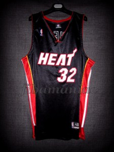 2006 NBA Finals Champions Miami Heat Shaquille O'Neal Jersey - Front