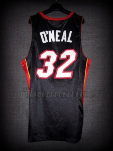 2006 NBA Finals Champions Miami Heat Shaquille O'Neal Jersey - Back