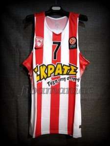 2015/2016 Euroleague Vassilis Spanoulis - Front