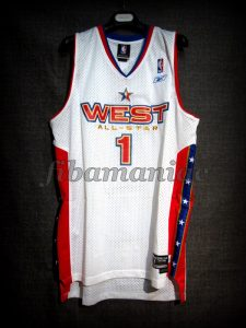 2005 NBA All Star Tracy McGrady Jersey – Front