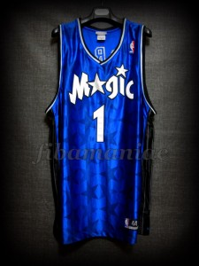 2003 NBA Scoring Champion Orlando Magic Tracy McGrady Jersey - Front