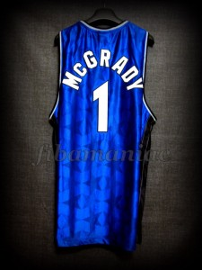 2003 NBA Scoring Champion Orlando Magic Tracy McGrady Jersey - Back
