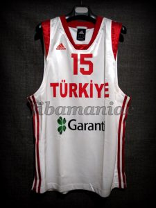 2007 Eurobasket Turkey Hidayet Turkoglu Jersey - Front