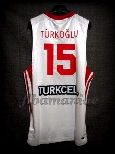 2007 Eurobasket Turkey Hidayet Turkoglu Jersey - Back