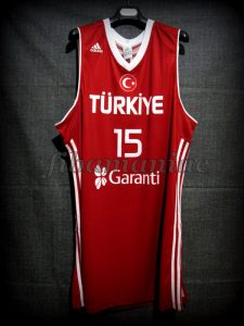 2010 World Cup All-Tournament Team Turkey Hidayet Turkoglu Jersey - Front
