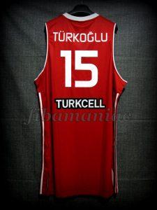 2010 World Cup All-Tournament Team Hedo Turkoglu - Back