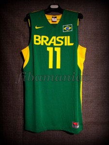 London 2012 Olympic Games Brazil Anderson Varejao Jersey - Front