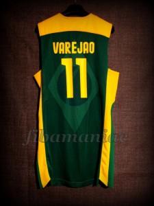 London 2012 Olympic Games Brazil Anderson Varejao Jersey - Back
