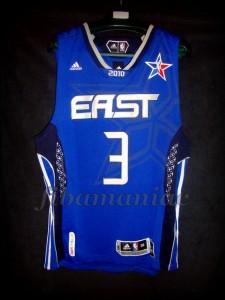 2010 NBA All Star MVP Dwyane Wade Jersey – Front