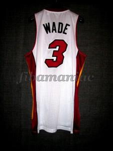 2013 NBA Finals Champions Miami Heat Dwyane Wade Jersey - Back