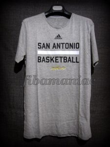 2014 NBA Finals San Antonio Spurs Warm Up - Front