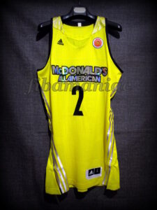 2014 McDonald's All-American Games Devin Booker Alternate Jersey - Front