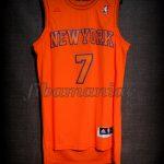 2012 Christmas Day New York Knicks Carmelo Anthony Jersey - Front