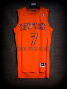 2012 NBA Christmas Day New York Knicks Carmelo Anthony Jersey - Front
