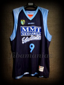 2008/2009 ACB CB Estudiantes Samo Udrih Jersey - Front