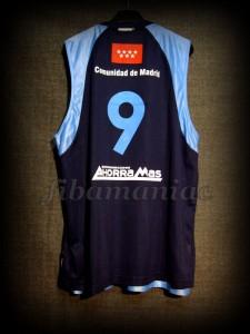 2008/2009 ACB CB Estudiantes Samo Udrih Jersey - Back