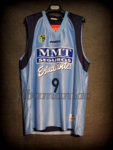 2008/2009 ACB CB Estudiantes Samo Udrih Jersey - Reverse Front