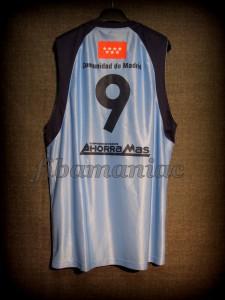 2008/2009 ACB CB Estudiantes Samo Udrih Jersey - Reverse Back
