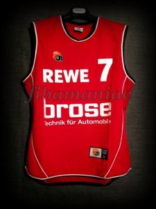 2008/2009 BBL Semifinals Brose Baskets Bamberg Demond Greene Jersey - Front