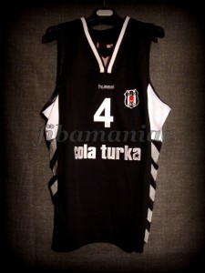 2010/2011 Eurocup Besiktas Istanbul Allen Iverson Jersey - Front