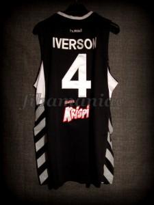 2010/2011 Eurocup Besiktas Istanbul Allen Iverson Jersey - Back