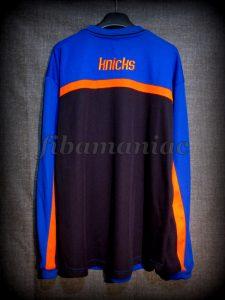 2000/2001 NBA New York Knicks Jacket - Back