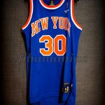 "1984 ""The Texas Massacre"" & Christmas Day Scoring Record New York Knicks Bernard King Jersey - Front"