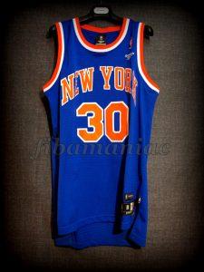 1985 NBA Scoring Champion New York Knicks Bernard King Jersey - Front