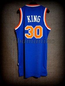 1985 NBA Scoring Champion New York Knicks Bernard King Jersey - Back