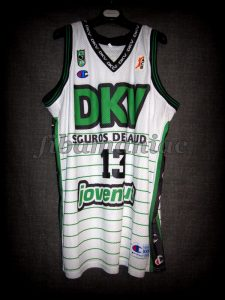 2003 Spanish King's Cup Joventut Badalona Mehdi Labeyrie Jersey Front - MW