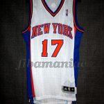 """2011/2012 New York Knicks Jeremy Lin """"Linsanity"""" Jersey - Front"""