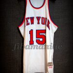 """1973 NBA Finals Champions New York Knicks Earl """"The Pearl"""" Monroe Jersey - Front"""