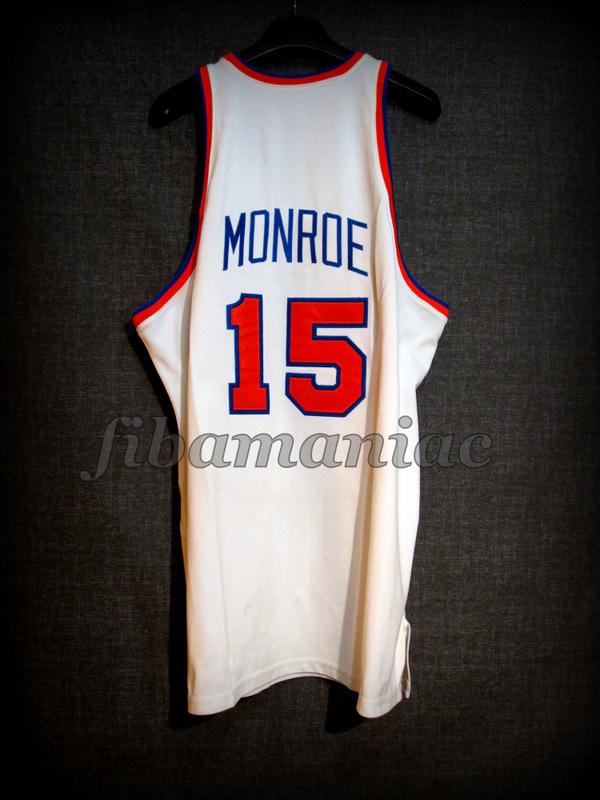 best sneakers 5c692 3b177 1973 NBA Finals Champions New York Knicks Earl Monroe Jersey ...