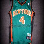 "2009 St.Patrick's Day New York Knicks Nate Robinson ""Kryptonate"" Jersey - Front"