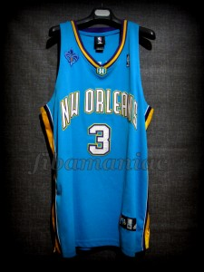 2006 NBA Rookie Of the Year New Orleans Pelicans Chris Paul Jersey - Front