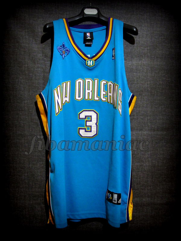 c757169cd 2006 NBA Rookie Of the Year New Orleans Pelicans Chris Paul Jersey - Front