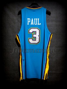 2006 NBA Rookie Of the Year New Orleans Pelicans Chris Paul Jersey - Back