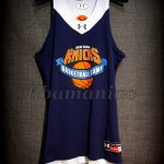 New York Knicks Training Camp Match Worn Jersey & Signed by the acclaimed shooting instructor Dave Hopla - Front
