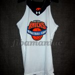 New York Knicks Training Camp Match Worn Jersey & Signed by the acclaimed shooting instructor Dave Hopla - Reverse Front