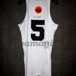 New York Knicks Training Camp Match Worn Jersey & Signed by the acclaimed shooting instructor Dave Hopla - Reverse Back