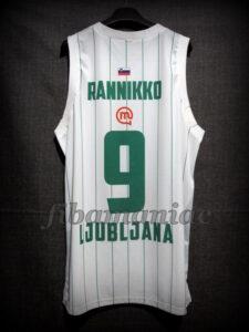 2012/2013 Euroleague Olimpija Ljubljana Teemu Rannikko Jersey - Back