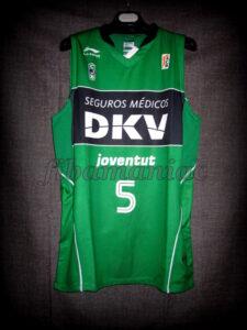 2008 Spanish King's Cup & EuroCup Finals MVP Joventut Badalona Rudy Fernández Jersey - Front