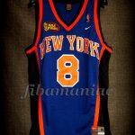 1999 NBA Finals New York Knicks Latrell Sprewell Jersey - Front