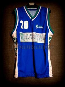 2001/2002 LEGA Semifinals Pallacanestro Cantù Shaun Stonerook Jersey - Front