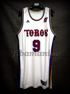 2006/2007 NBA D-League Austin Toros Game Jersey Front – Issued
