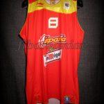 2009 Eurobasket Champions Spain José Manuel Calderón Jersey Front - Signed