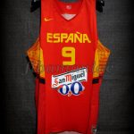 2014 World Cup Spain Felipe Reyes Jersey Front - Issued & signed