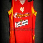 2006 World Cup MVP Spain Pau Gasol Jersey Front – Signed