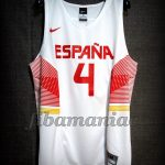 2015 Eurobasket MVP Spain Pau Gasol Jersey - Front