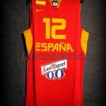 2013 Eurobasket Spain Sergio Llull Jersey - Front